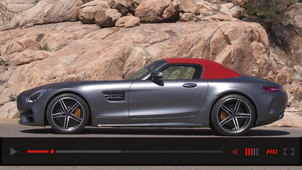 VIDEO: Mercedes-AMG GT C Roadster 2018