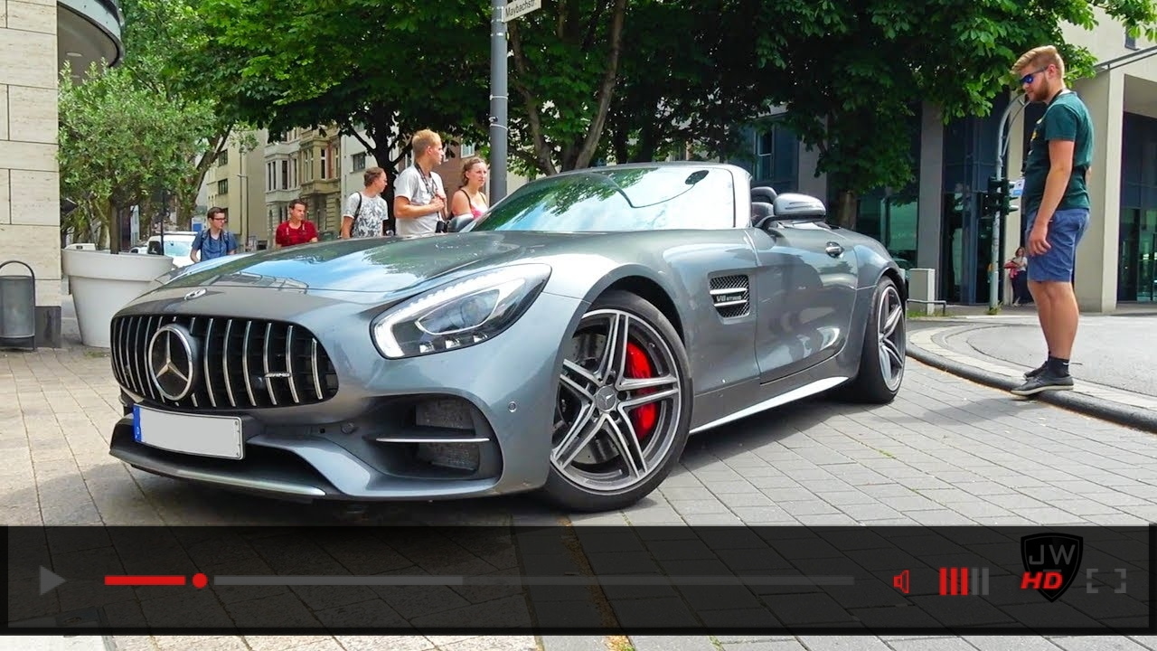 VIDEO: Mercedes AMG GTC Roadsters in Germany! Exhaust SOUNDS!