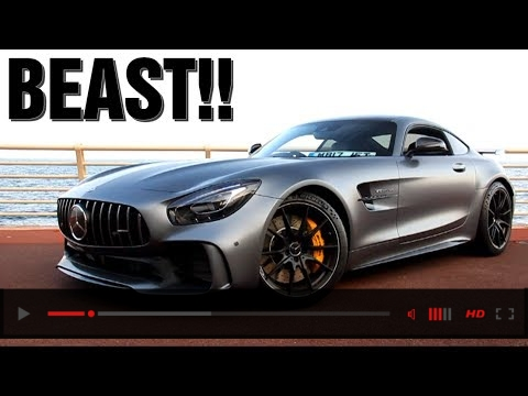 VIDEO: Mercedes AMG GTR SOUND in Monaco!