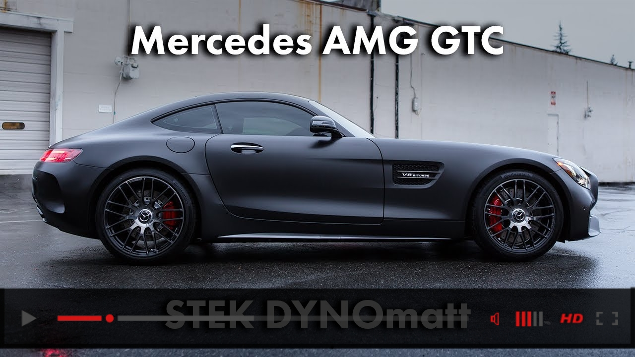 VIDEO: STEK DYNOmatt (Mercedes AMG GTC)
