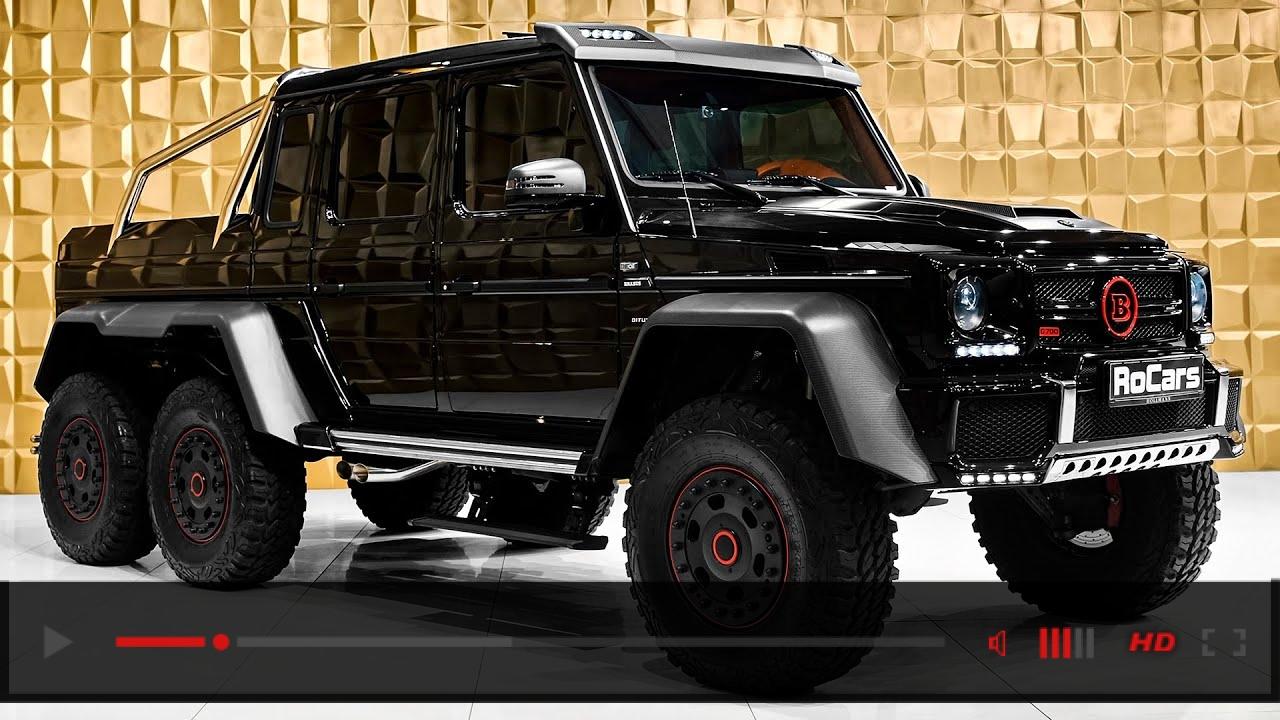 $1M BRABUS 700 Mercedes-AMG G 63 6x6 - 960NM BEAST from Brabus
