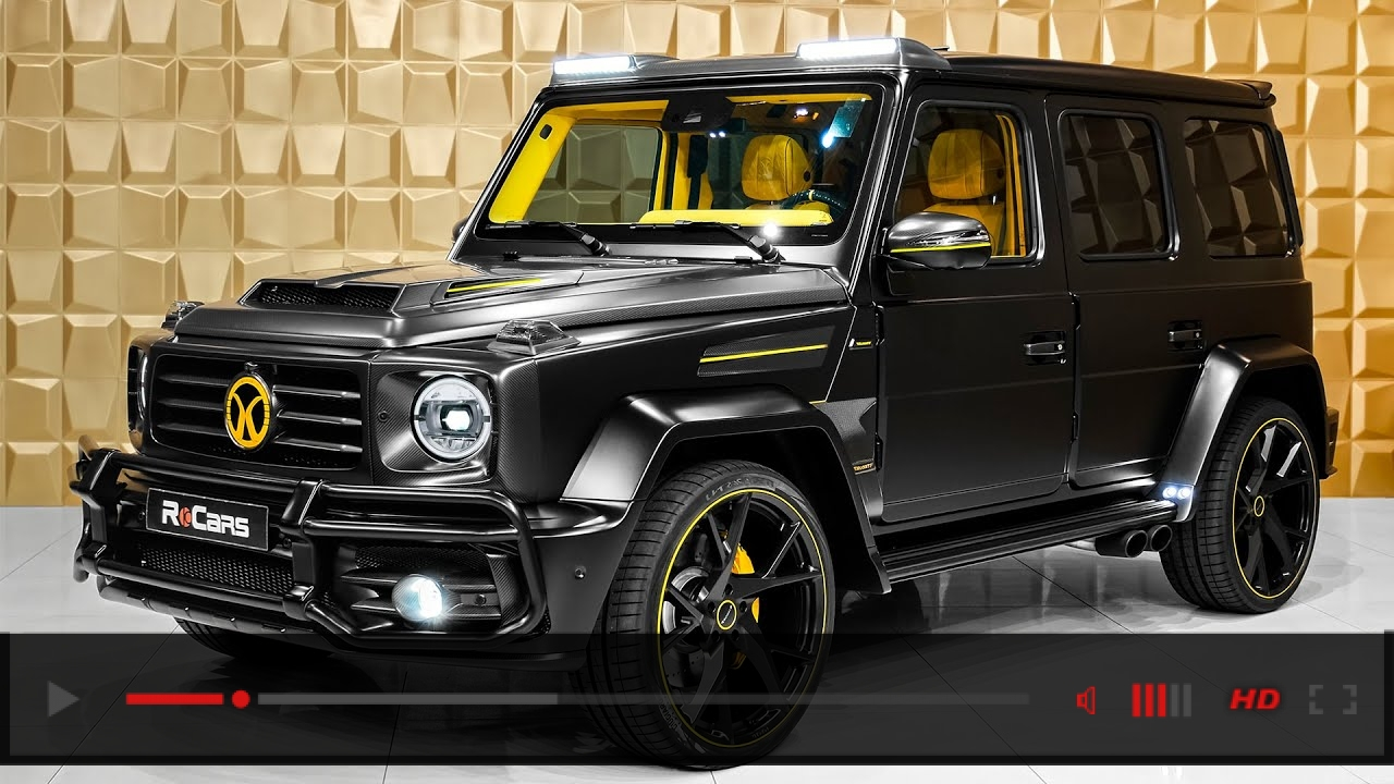 2020 Mercedes-AMG G 63 - Exclusive G-Wagon from Mansory