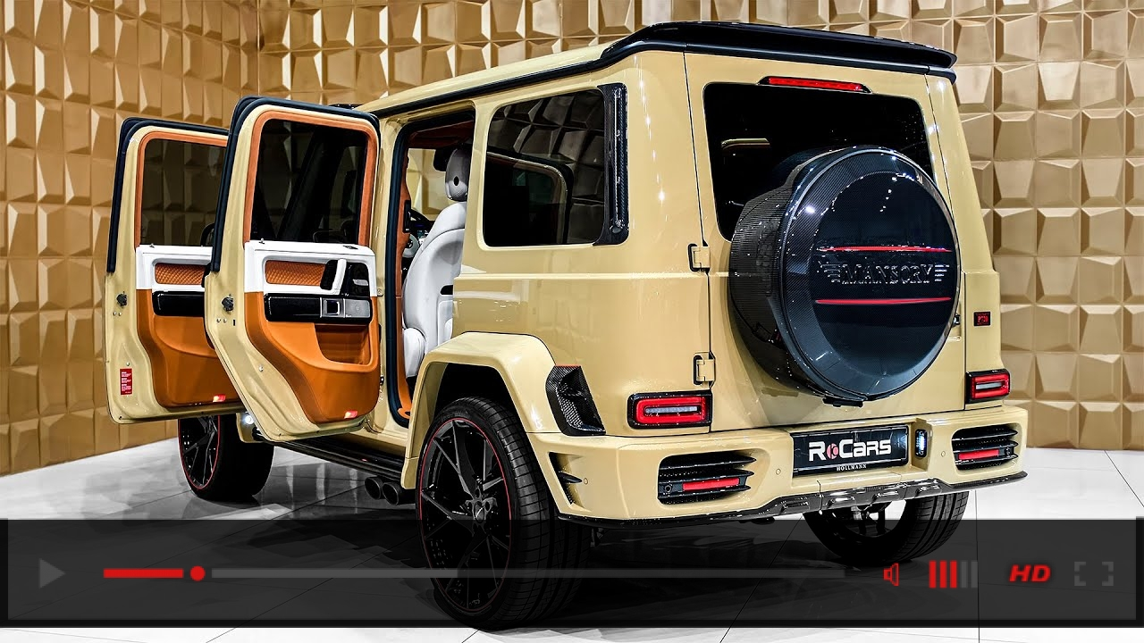 2020 Mercedes G 63 AMG from Mansory in Desert Sand Gloss