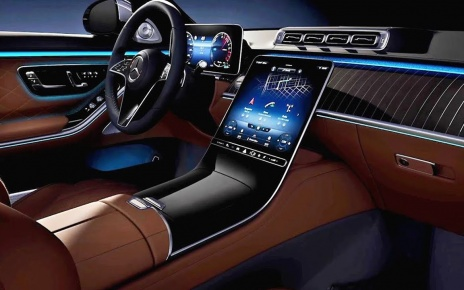 2021 Mercedes S-Class INTERIOR / Extremely Luxurious Large Sedan