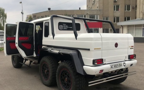6x6 Mercedes-Benz G63 AMG W463 Brabus G700 Tuning parts replacement/short review