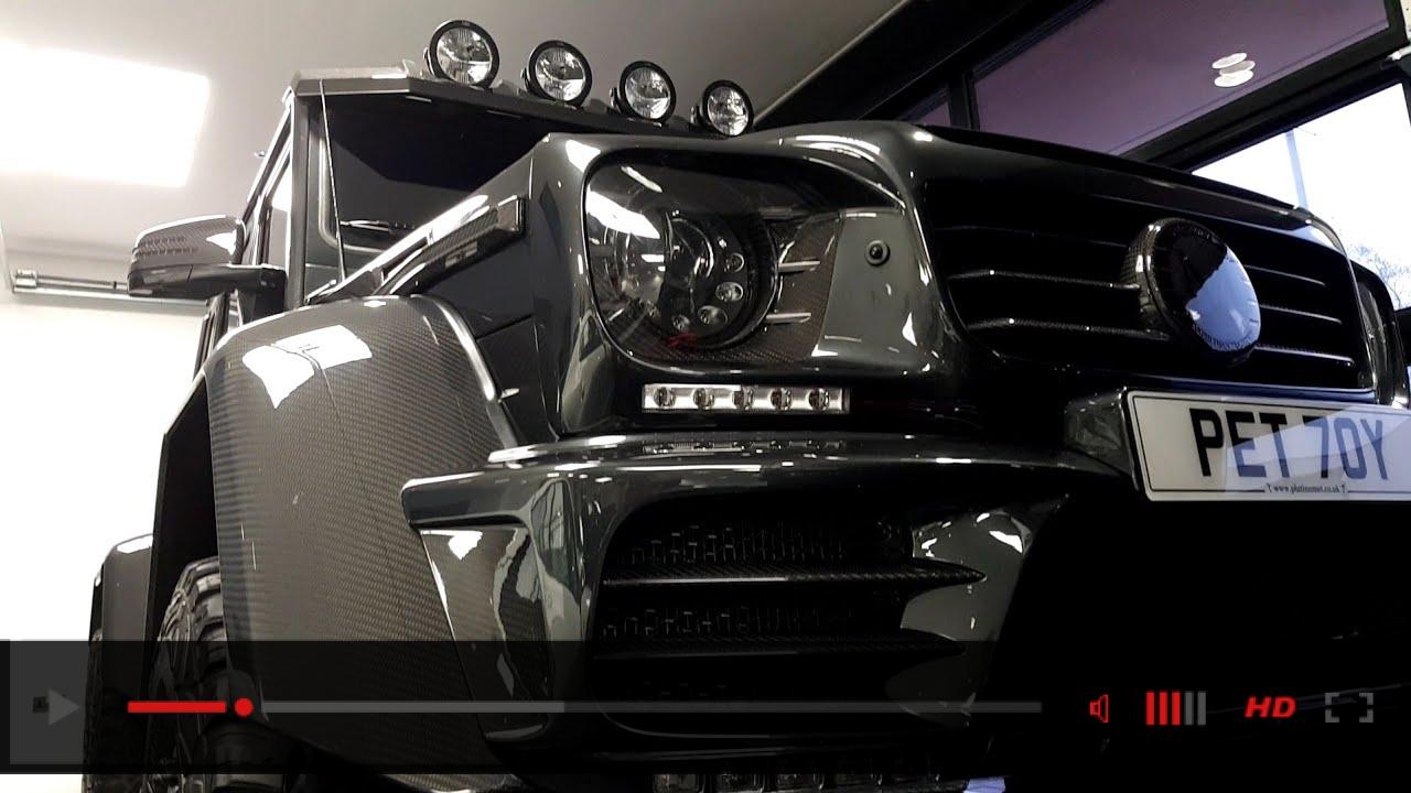 Mansory 6X6 Mercedes G Wagon Platinum Executive Travel