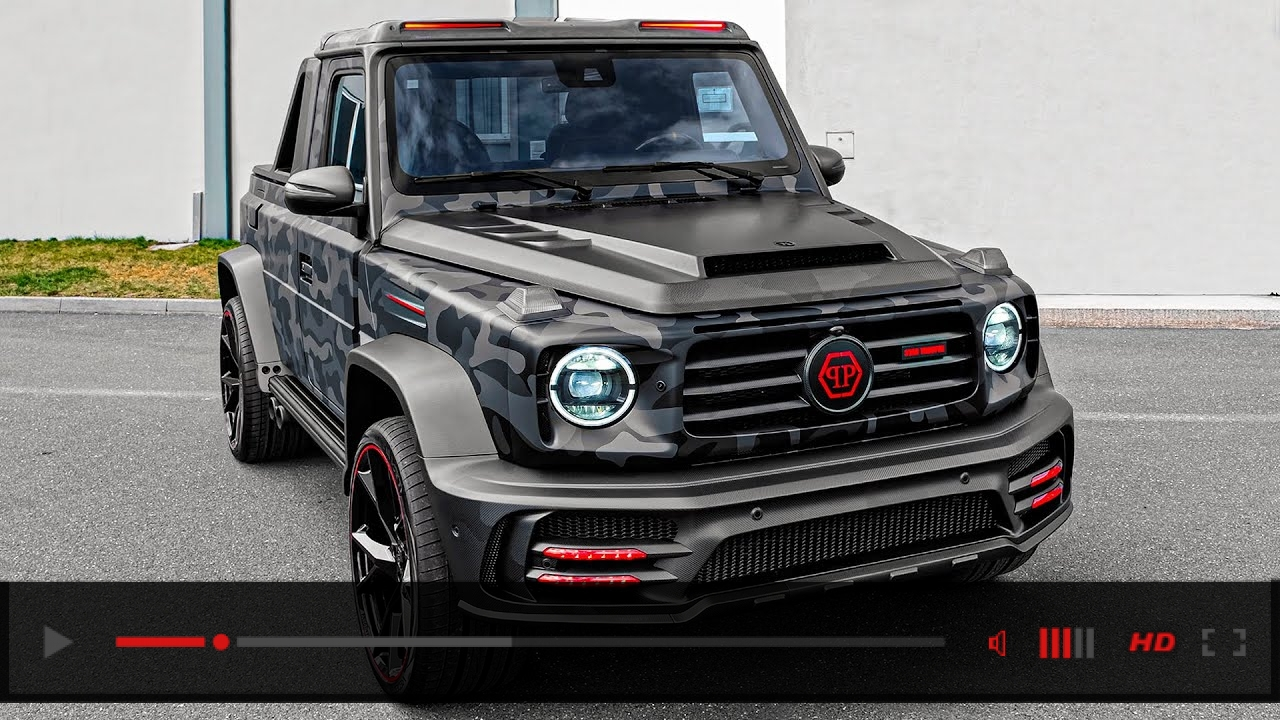 2020 Mercedes-AMG G 63 Star Trooper Pickup - Limited Edition G Wagon by Mansory and Philipp Plein