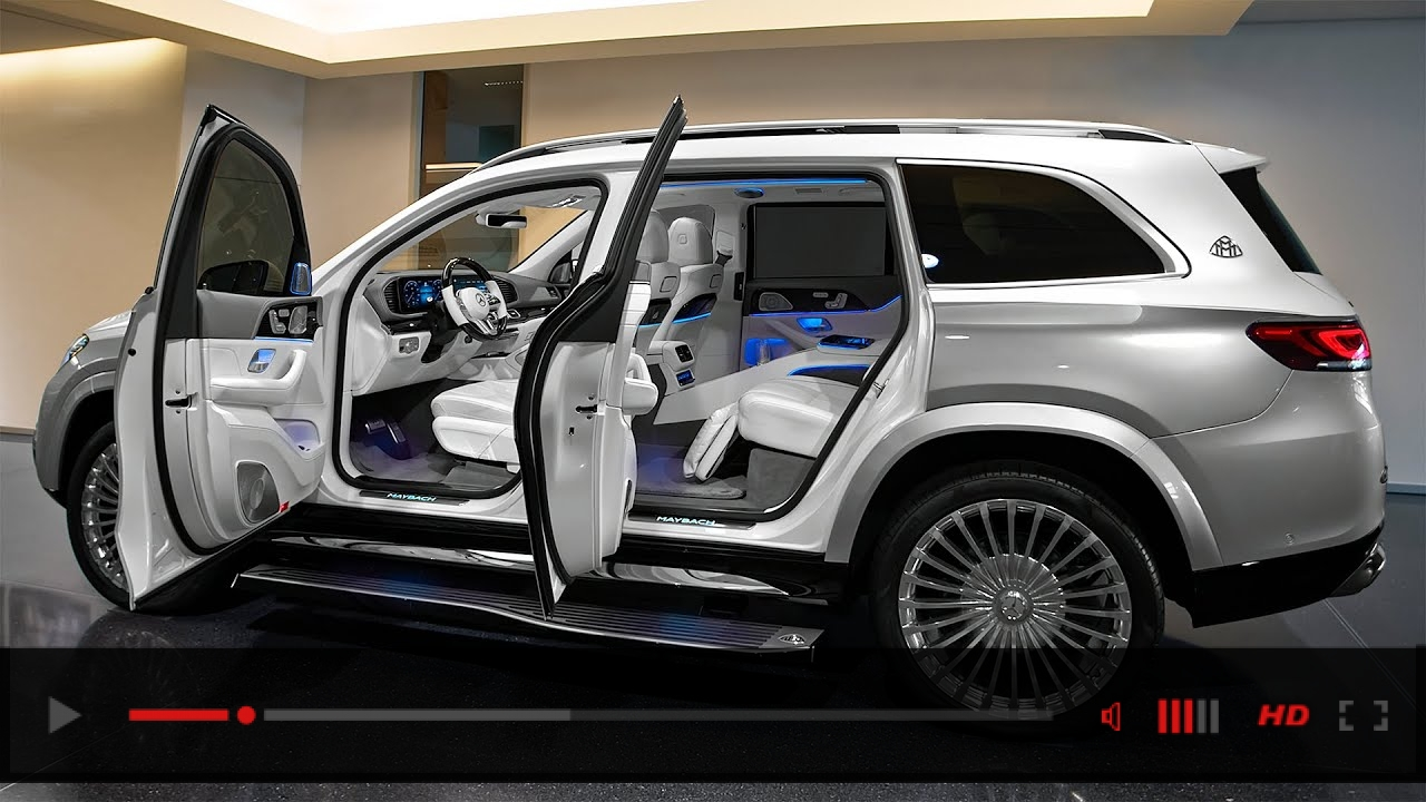 2021 Mercedes-Maybach GLS 600 - Gorgeous Luxury SUV in details