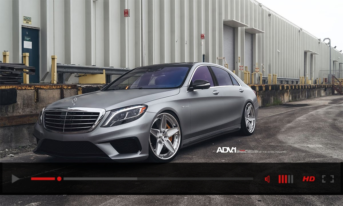 ADV.1 Renntech Tuned Mercedes S63 AMG Daily Driver