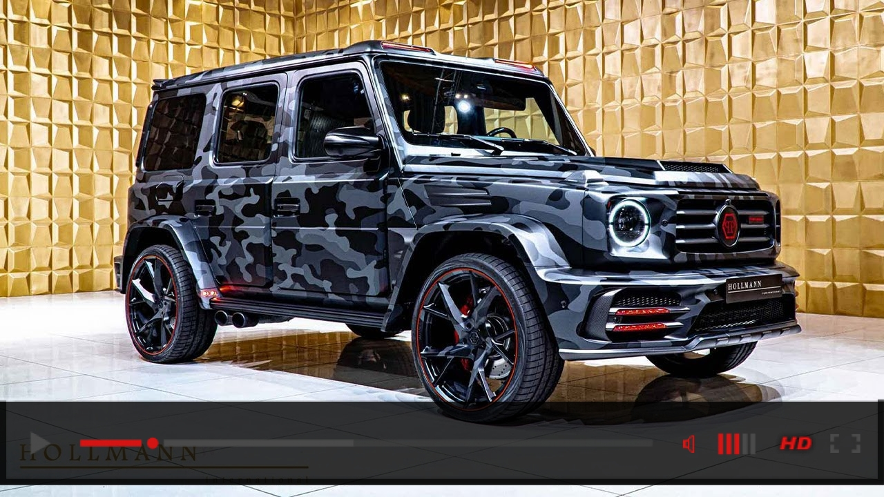 "Close Up: Mansory x Philipp Plein ""Star Trooper"" based on Mercedes-Benz G 63 (Camouflage)"