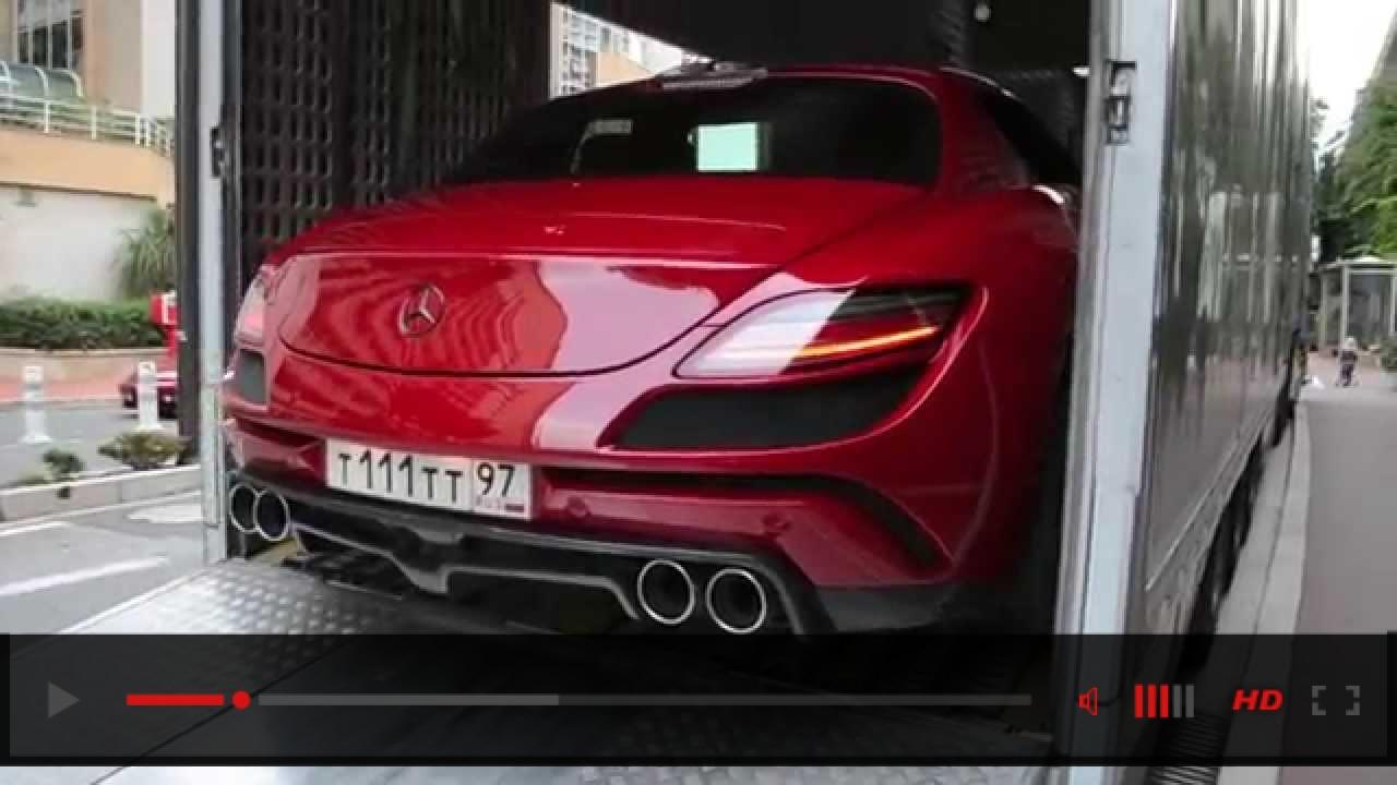 €750K,1000BHP: FAB Design SLS AMG Gullstream: Monaco delivery