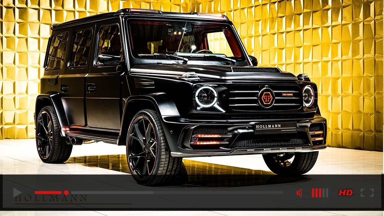 "Mansory x Philipp Plein ""Star Trooper"" based on Mercedes-Benz G 63 [Close Up]"