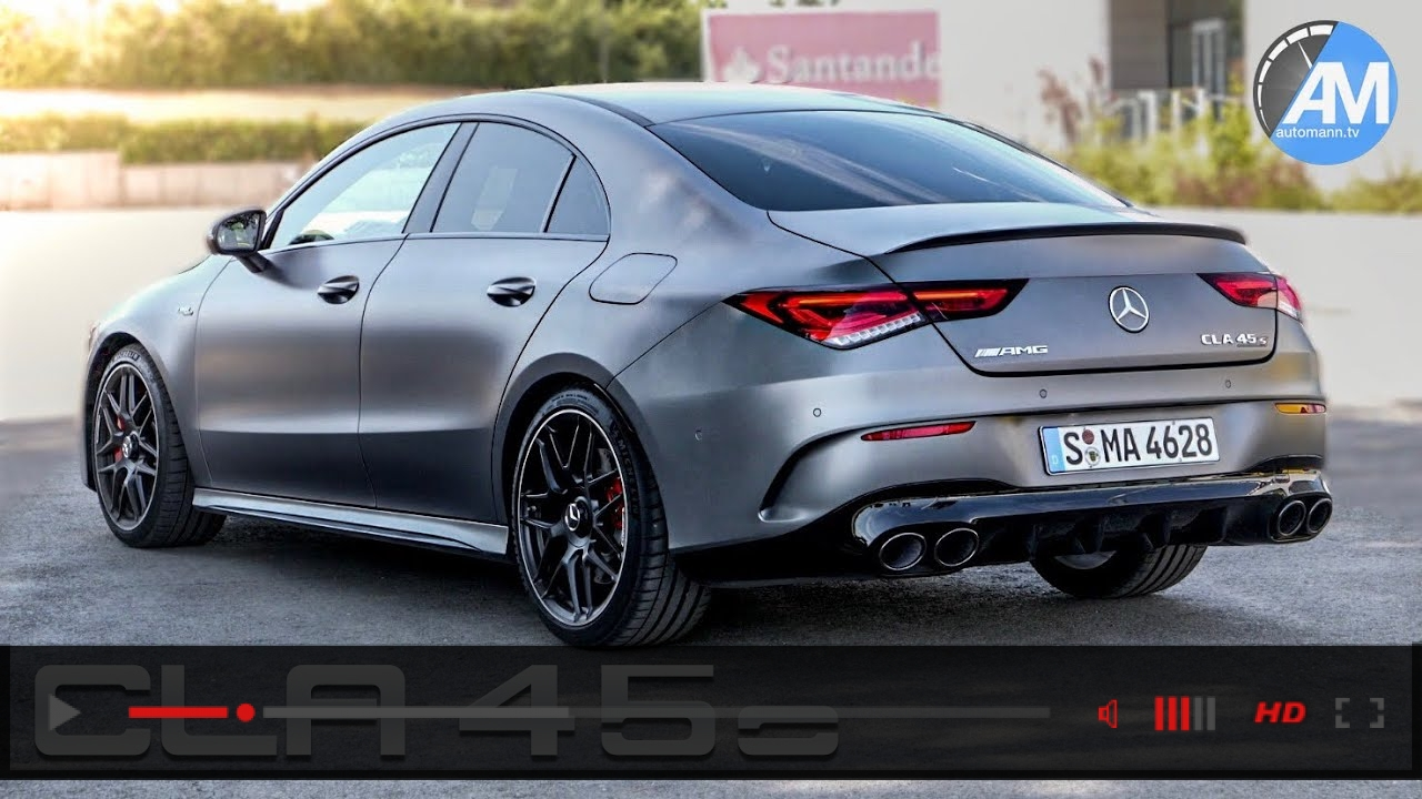 Mercedes-AMG CLA 45s (422hp) - DRIVE & SOUND!