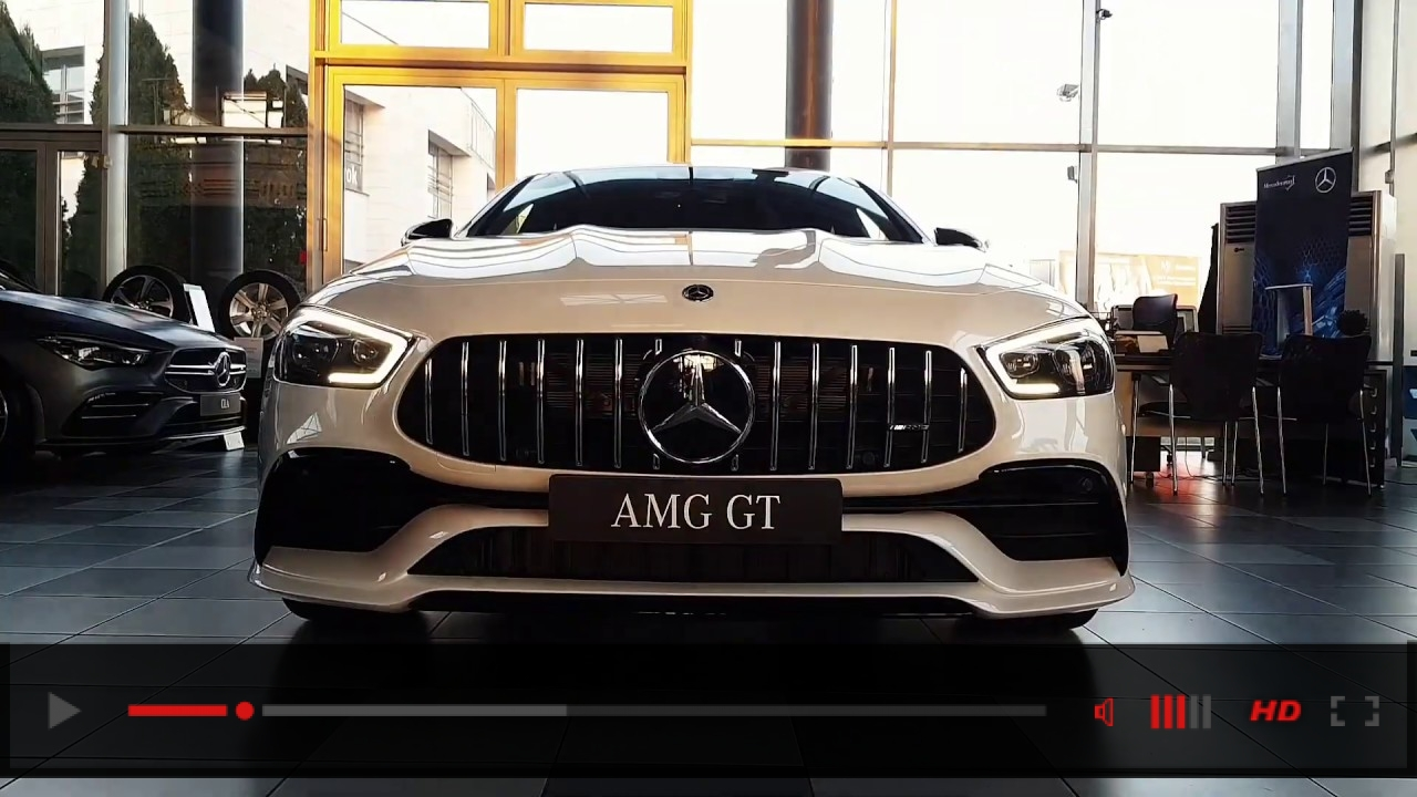 Mercedes-AMG GT 4-Door 43 Coupe Welcome to ///AMG world