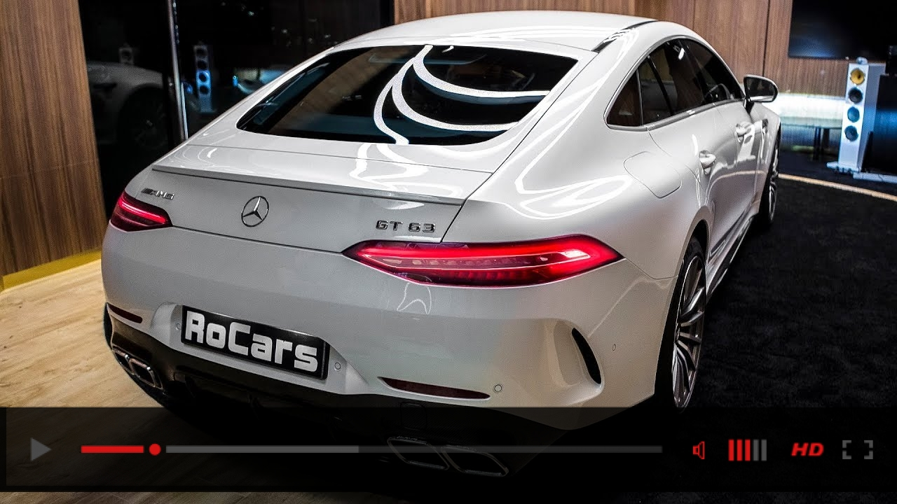 Mercedes-AMG GT 63 4MATIC+ (2019) - Wild 4-Door Coupe!