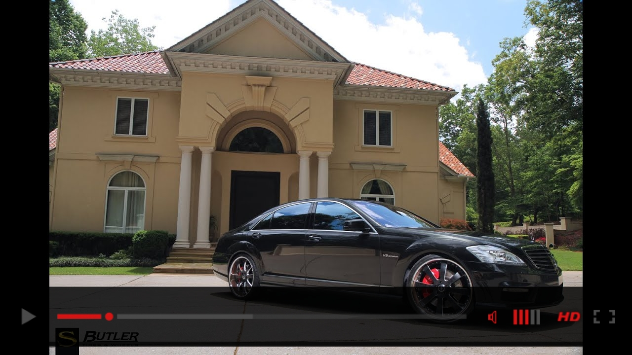 Mercedes-Benz S63 AMG | Forged SV28 | Savini Wheels | Butler Tires & Wheels