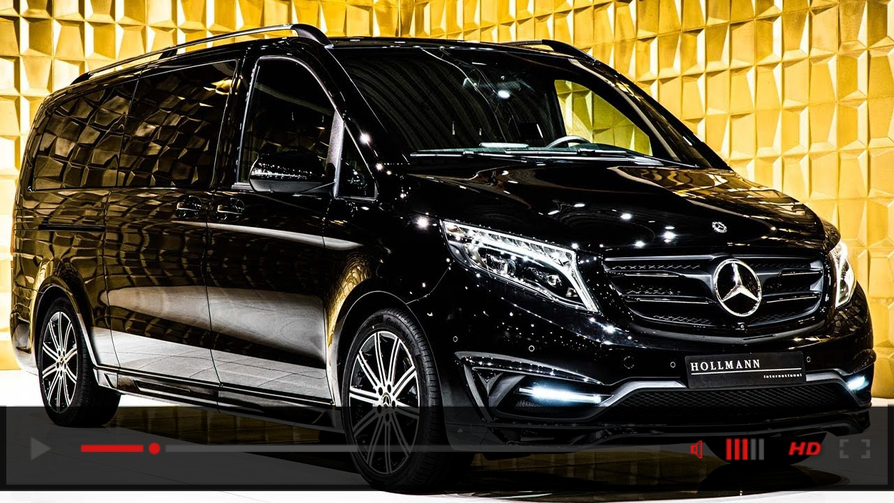Mercedes-Benz V 300 d 4Matic Customized [Walkaround]   4k Video