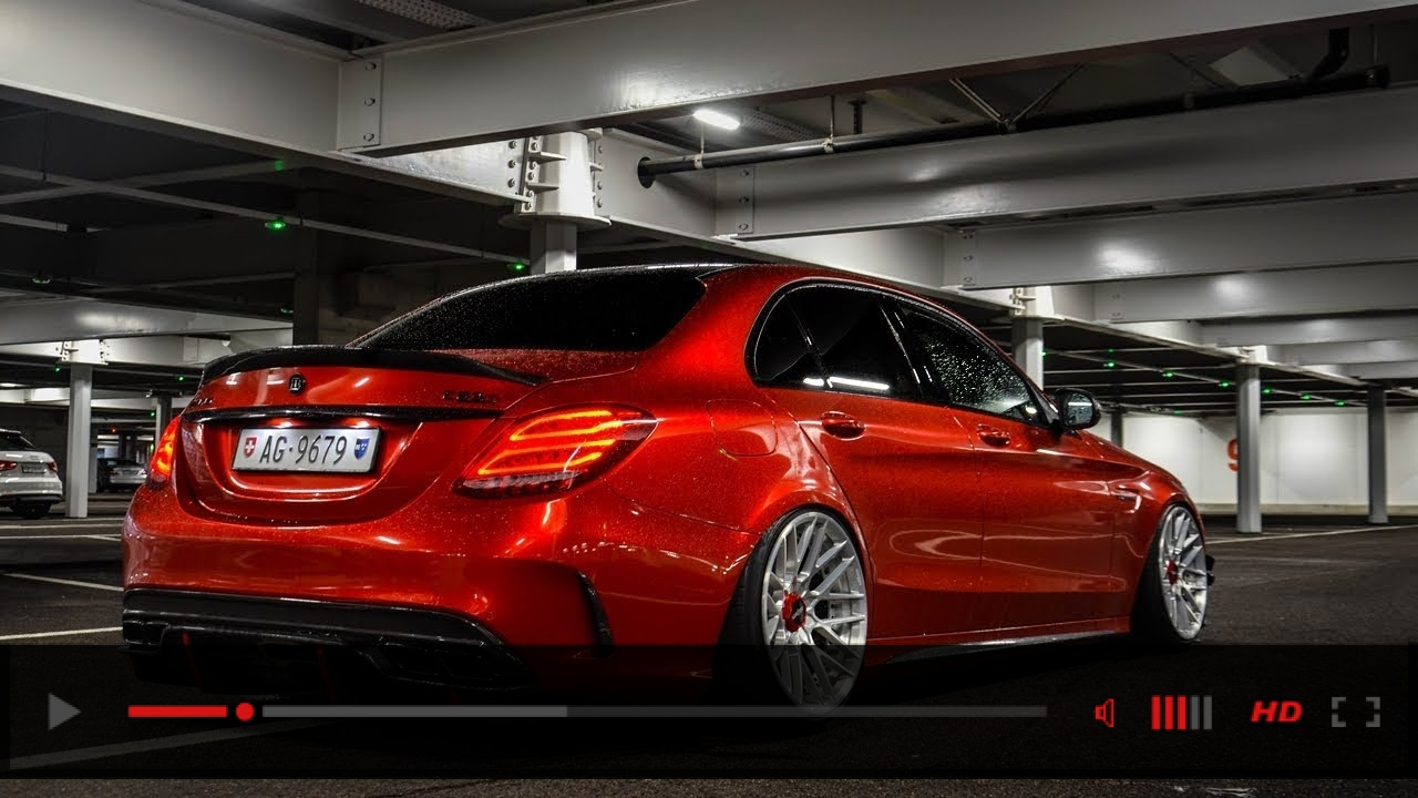 Mercedes C63s AMG Edition 1 w/ Rotiform Wheels - Details & Lovely REVS!