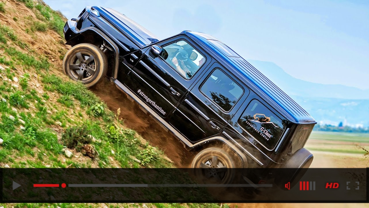 Mercedes G-Class (2020) The World's Best Off-Road SUV?