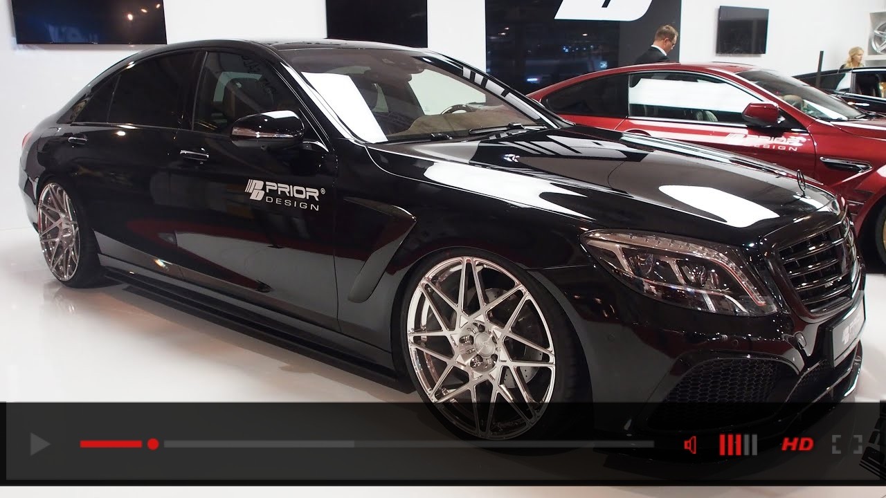 Mercedes S Class AMG Tuned by Prior Design at Essen Motorshow - Exterior Walkaround