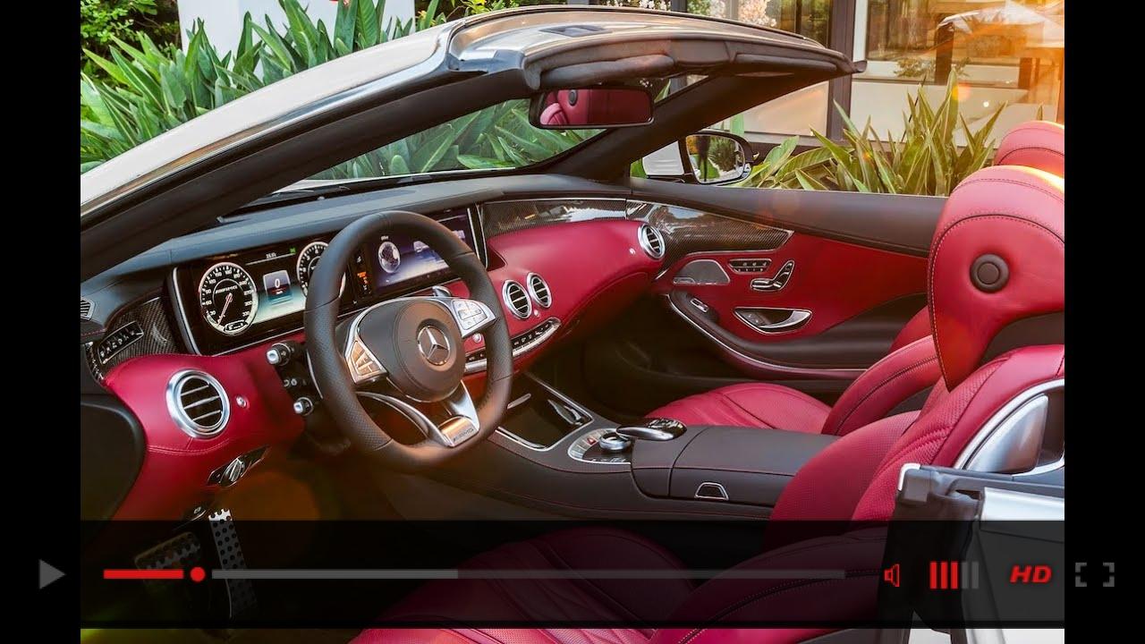 Mercedes S Class Cabriolet INTERIOR AMG S63 Cabriolet INTERIOR HD