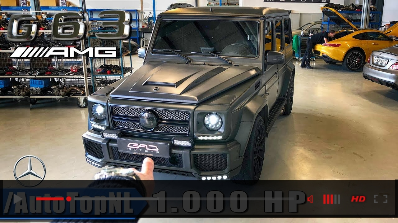 1000HP Mercedes G63 AMG GAD Motors REVIEW POV Test Drive | FASTEST G CLASS IN THE WORLD