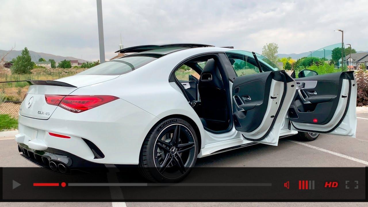 2020 AMG CLA 45 Coupe Exterior Interior Design 4K | CLA 45 AMG POV DRIVE
