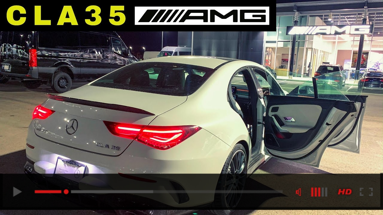 2020 Mercedes-AMG CLA 35 Night Drive | CLA 35 AMG Startup and Test Drive