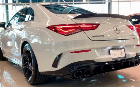 2020 Mercedes-AMG CLA 45 Coupe - Exterior, Interior Design 4K