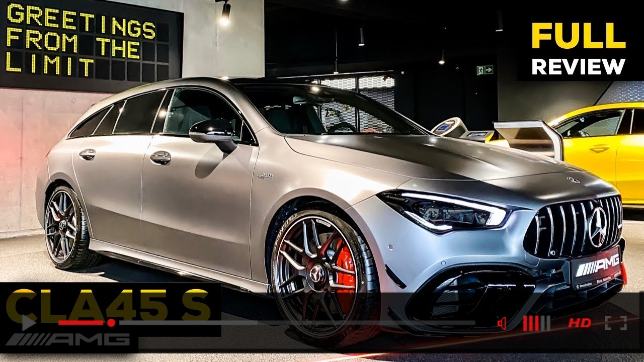 2020 MERCEDES AMG CLA45 S FULL Review BRUTAL Sound Exterior Interior Infotainment