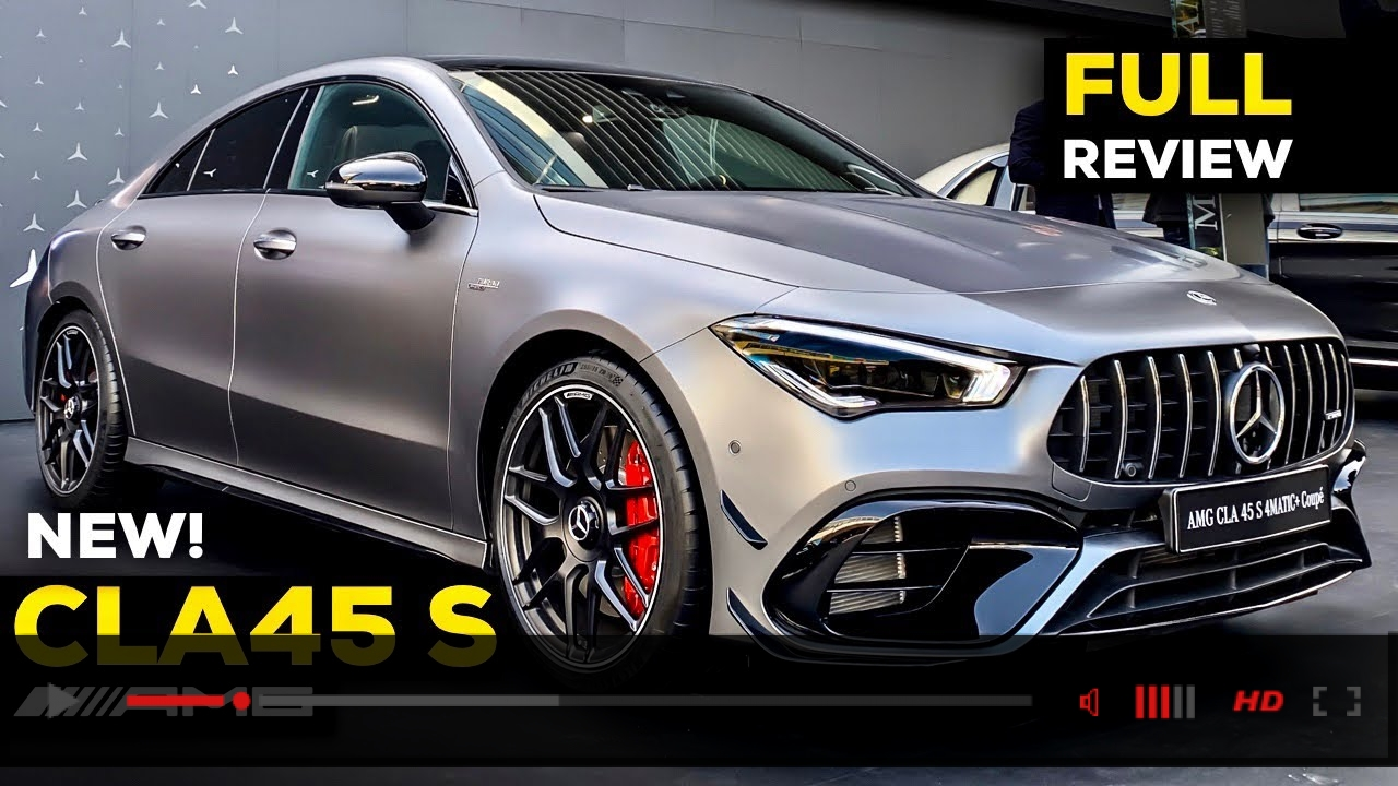 2020 MERCEDES AMG CLA45 S NEW FULL Review BRUTAL 4MATIC+ Interior Exterior MBUX