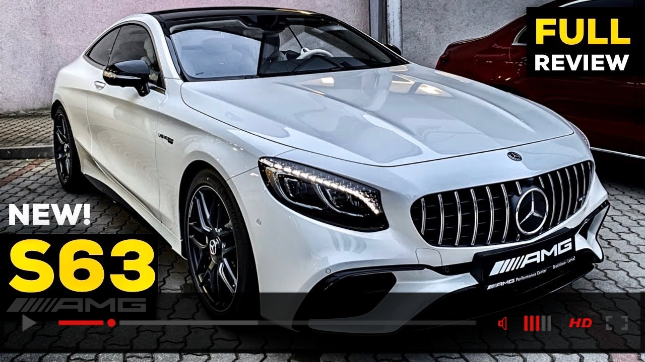 2020 MERCEDES AMG S63 Coupé V8 NEW FULL Review BRUTAL Sound S Class 4MATIC+ Interior Exterior