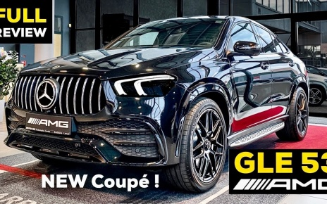 2020 MERCEDES GLE Coupe AMG NEW GLE 53 Full Review BRUTAL Sound Exterior Interior Infotainment