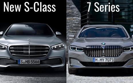 2021 Mercedes S-Class vs BMW 7 Series Luxury Sedans Comparison