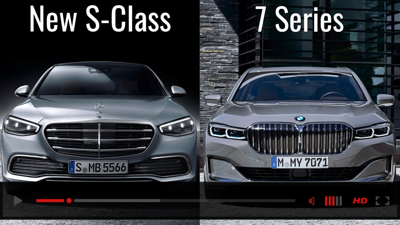 2021 Mercedes S-Class vs BMW 7 Series Luxury Sedans Comparison