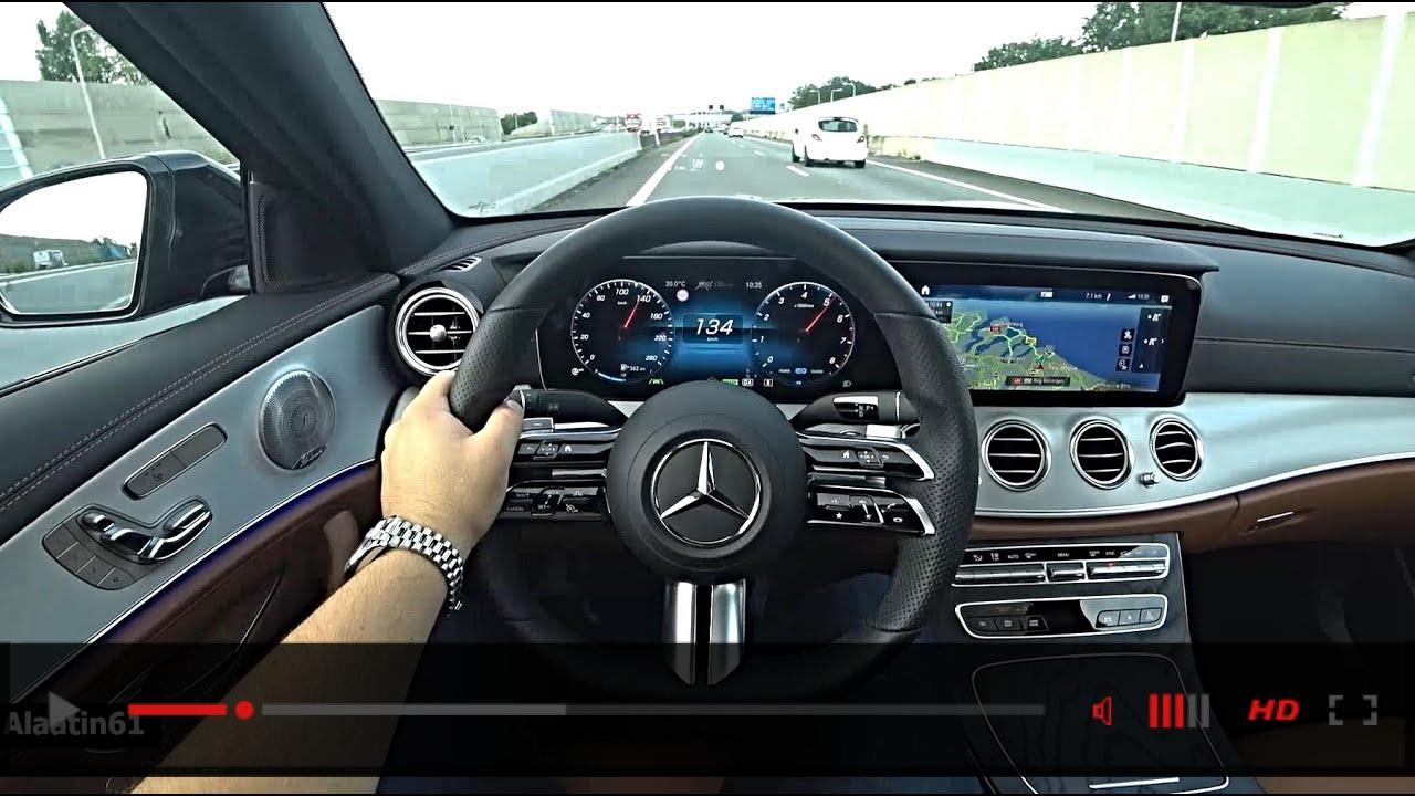 2021 NEW Mercedes E Class Test Drive