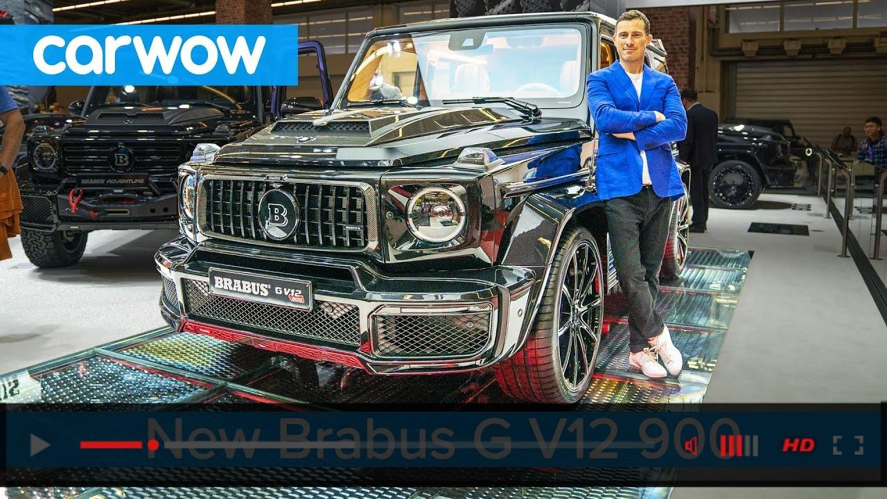 Brabus G V12 900hp - the V12 Mercedes-AMG G63