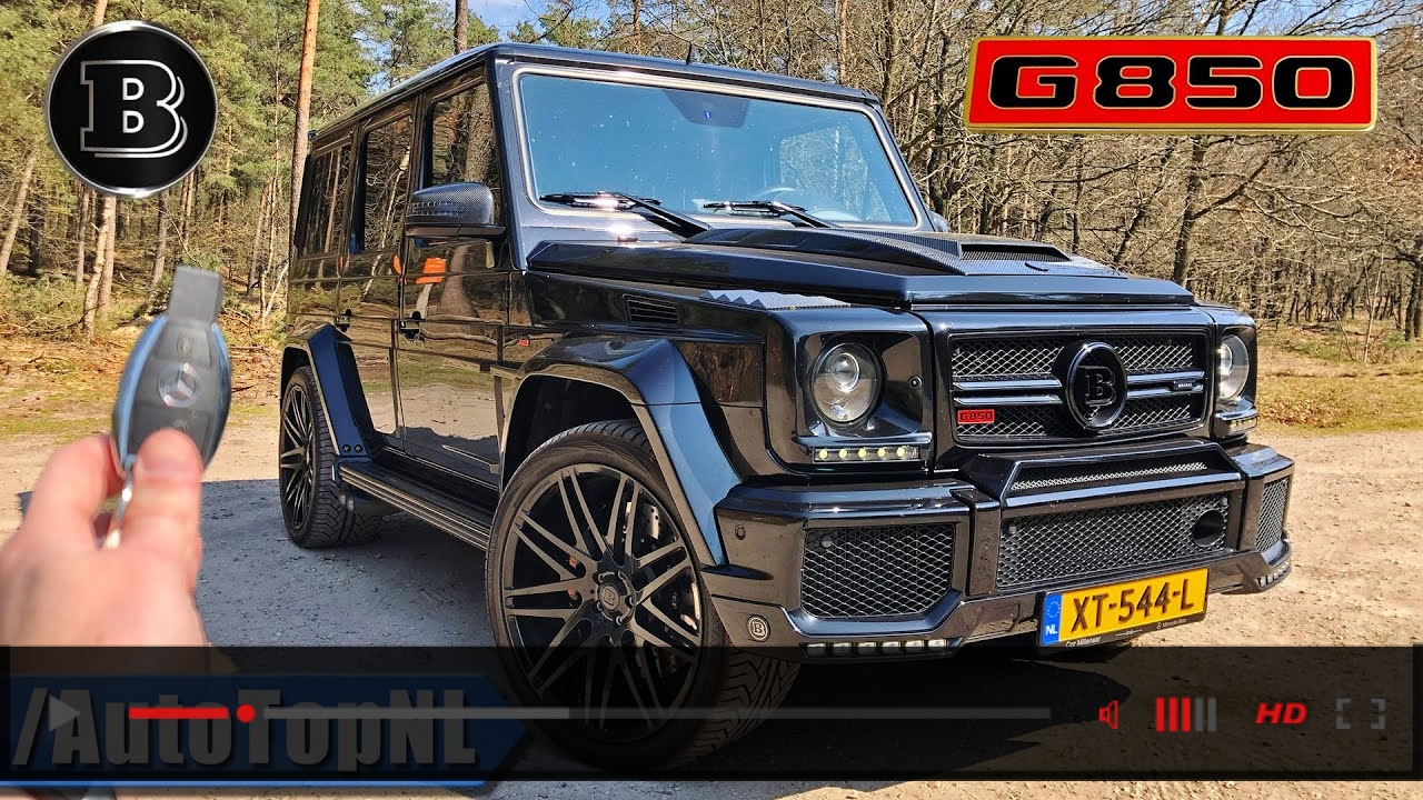 BRABUS G850 G WAGON G63 AMG REVIEW by AutoTopNL
