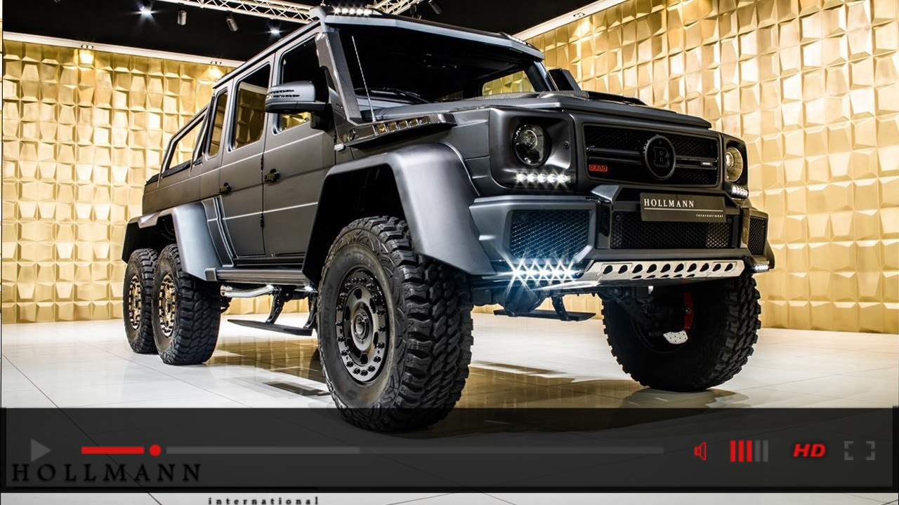 Close Up: Brabus 700 based on Mercedes-Benz G 63 AMG 6x6