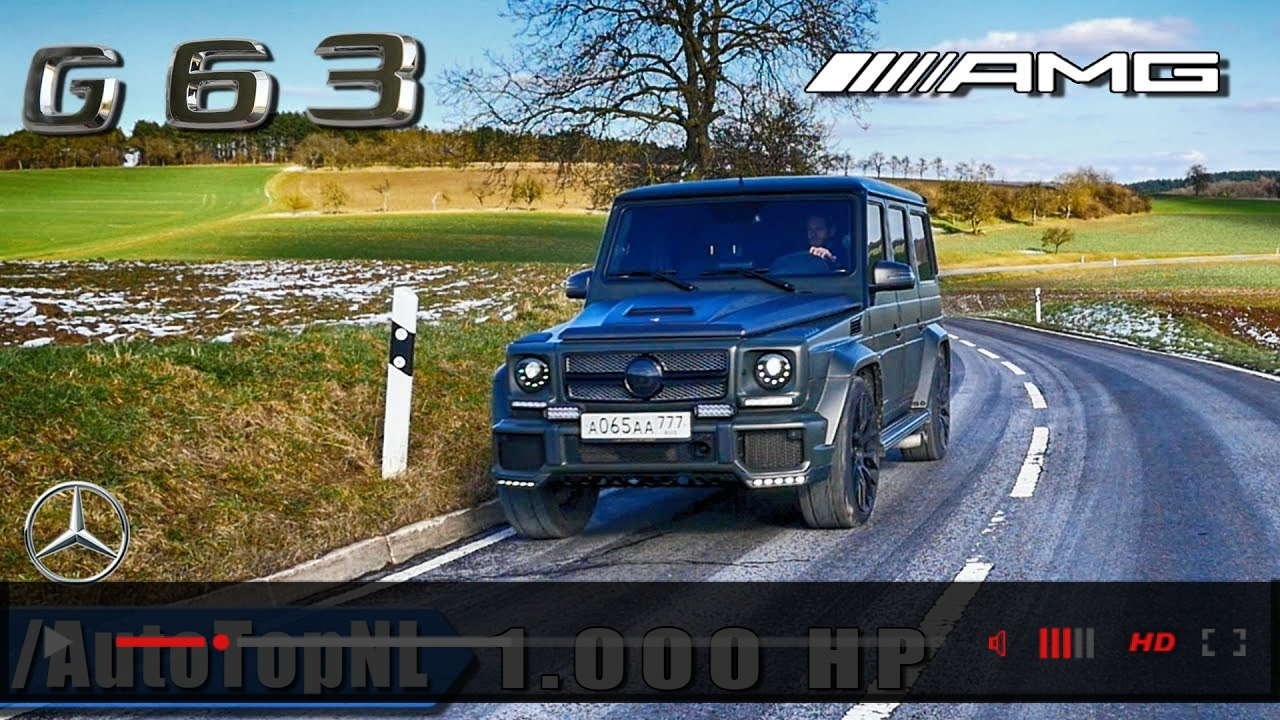 G63 AMG 1000HP GAD Motors | Exhaust SOUND - STRAIGHT PIPES - Onboard & LOUD! REVS by AutoTopNL