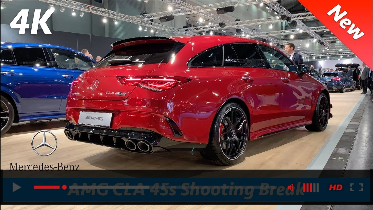 Mercedes-AMG CLA 45 S Shooting Brake 2020