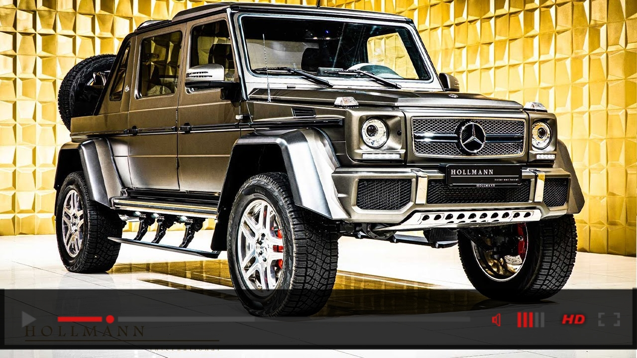 Mercedes-Benz Maybach G 650 Landaulet [Close Up]
