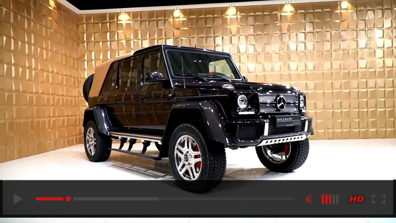 Mercedes-Benz Maybach G-Wagen 650 Landaulet [Close Up]