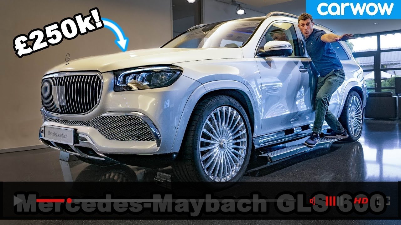 Mercedes-Maybach GLS 600 - see why it's the German Rolls-Royce Cullinan!