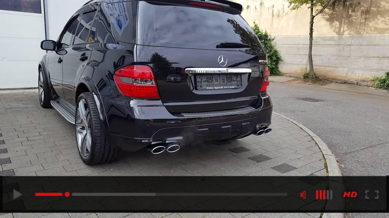 Mercedes W164 ML 320 CDI Active Sound Exhaust