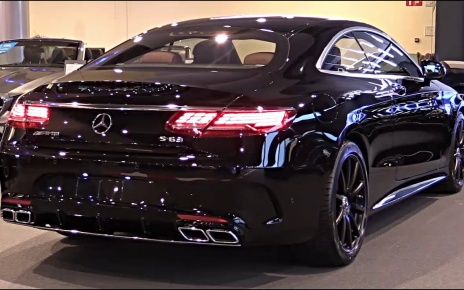 The 2020 MERCEDES AMG S63 4Matic+ Is A Beautifull Luxury Coupe - SOUND FULL REVIEW S Class AMG