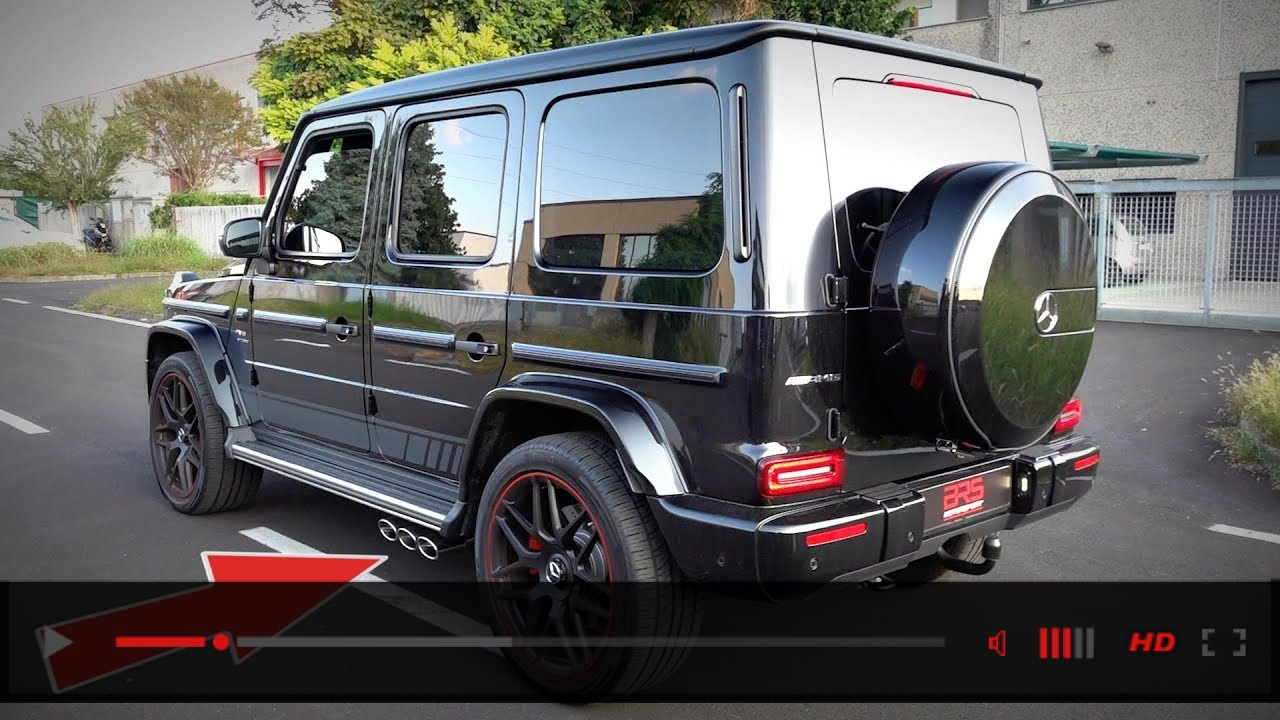 2019 Mercedes G63 AMG Edition 1 with Capristo Exhaust SOUNDS | Start Up, Revs, Accelerations