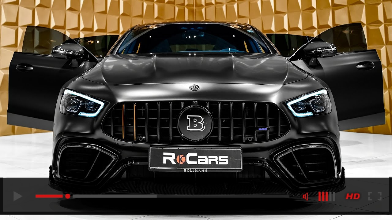 2020 BRABUS 800 Mercedes-AMG GT 63 S - MOST BEAUTIFUL GT in Detail