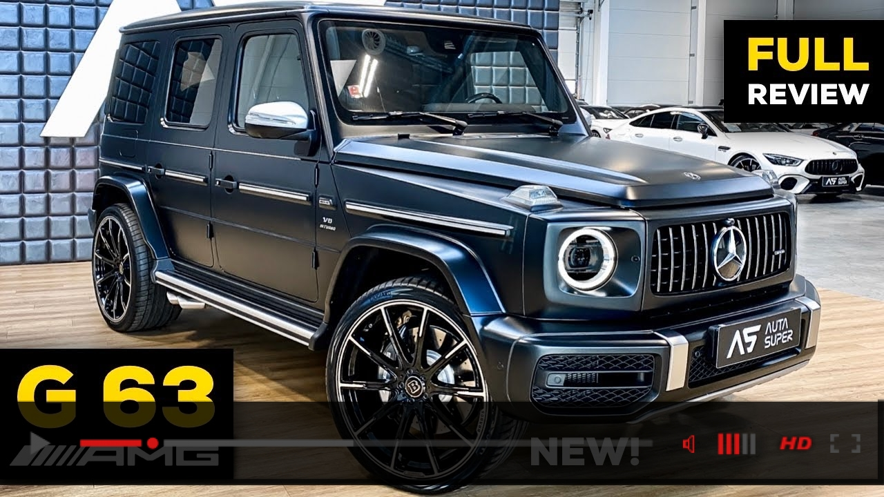 2020 MERCEDES G63 AMG NEW G Class V8 FULL In-Depth Review BRUTAL Sound Exhaust Interior Infotainment