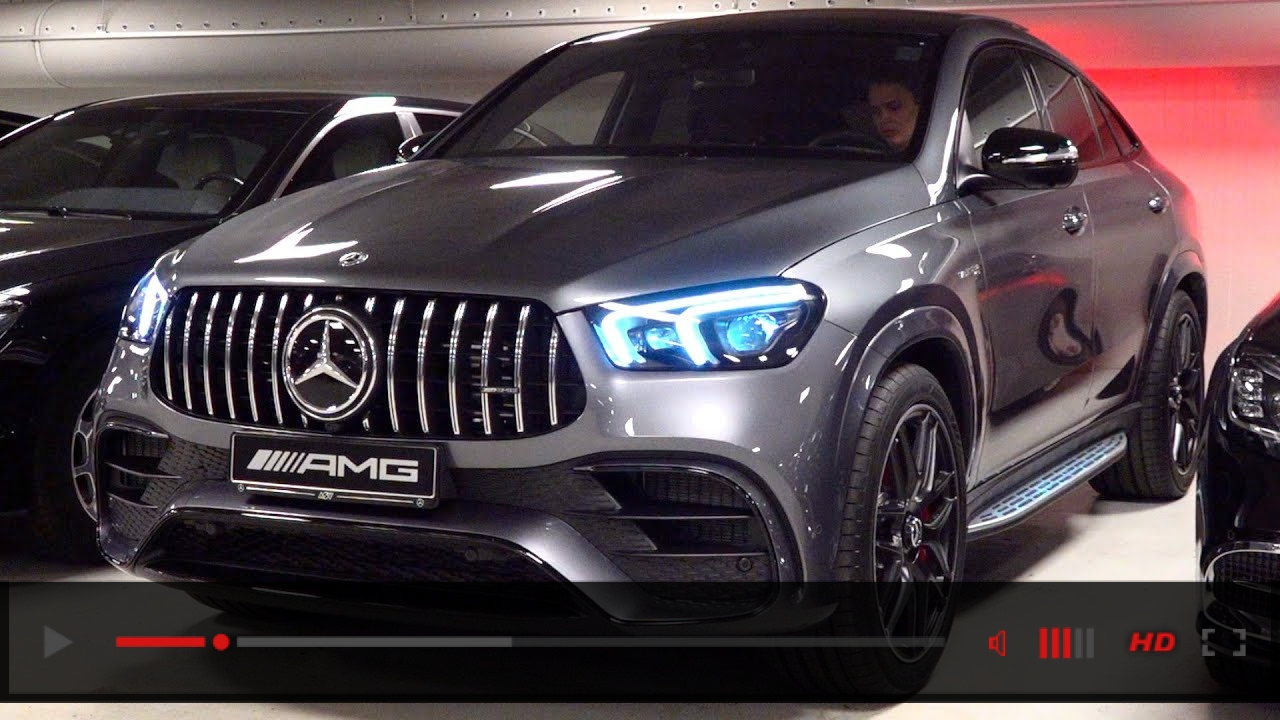 2021 Mercedes AMG GLE 63 S Coupe - BRUTAL Sound Full Review Interior Exterior